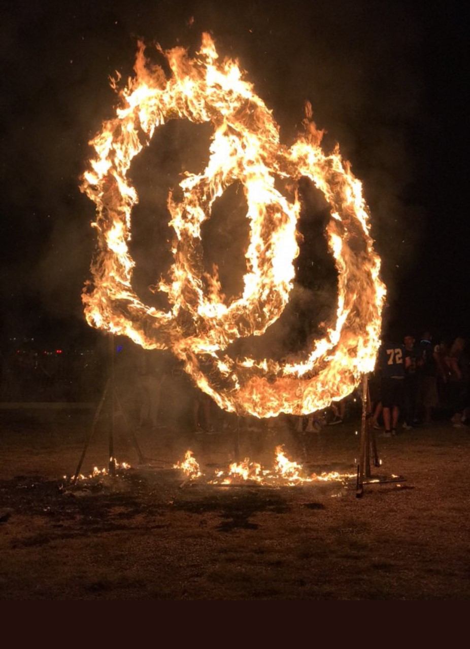 Burning of the O