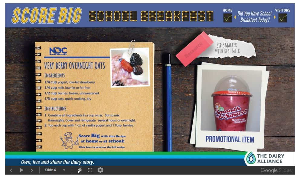 Score Big School Breakfast 4