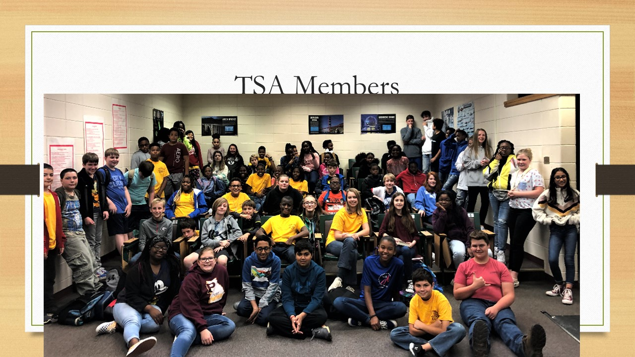 TSA Club Meeting