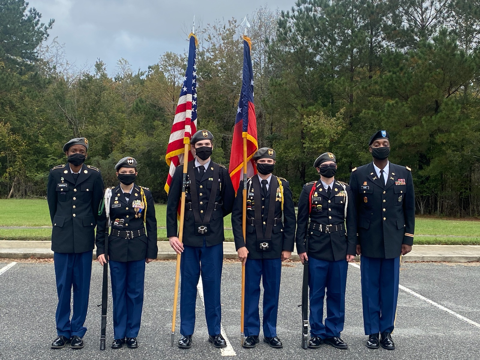 Jr ROTC Thunderbolt Regiment