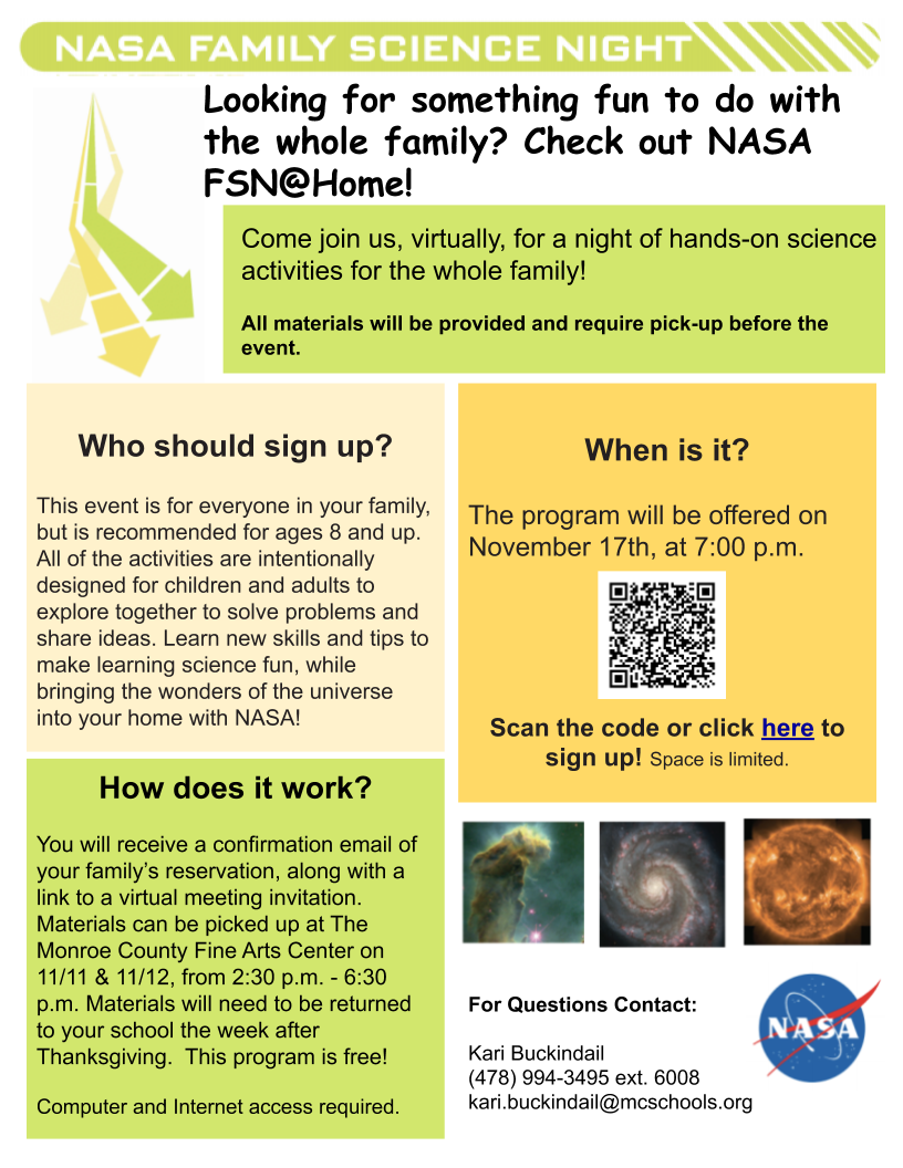 NASA Family Science Night