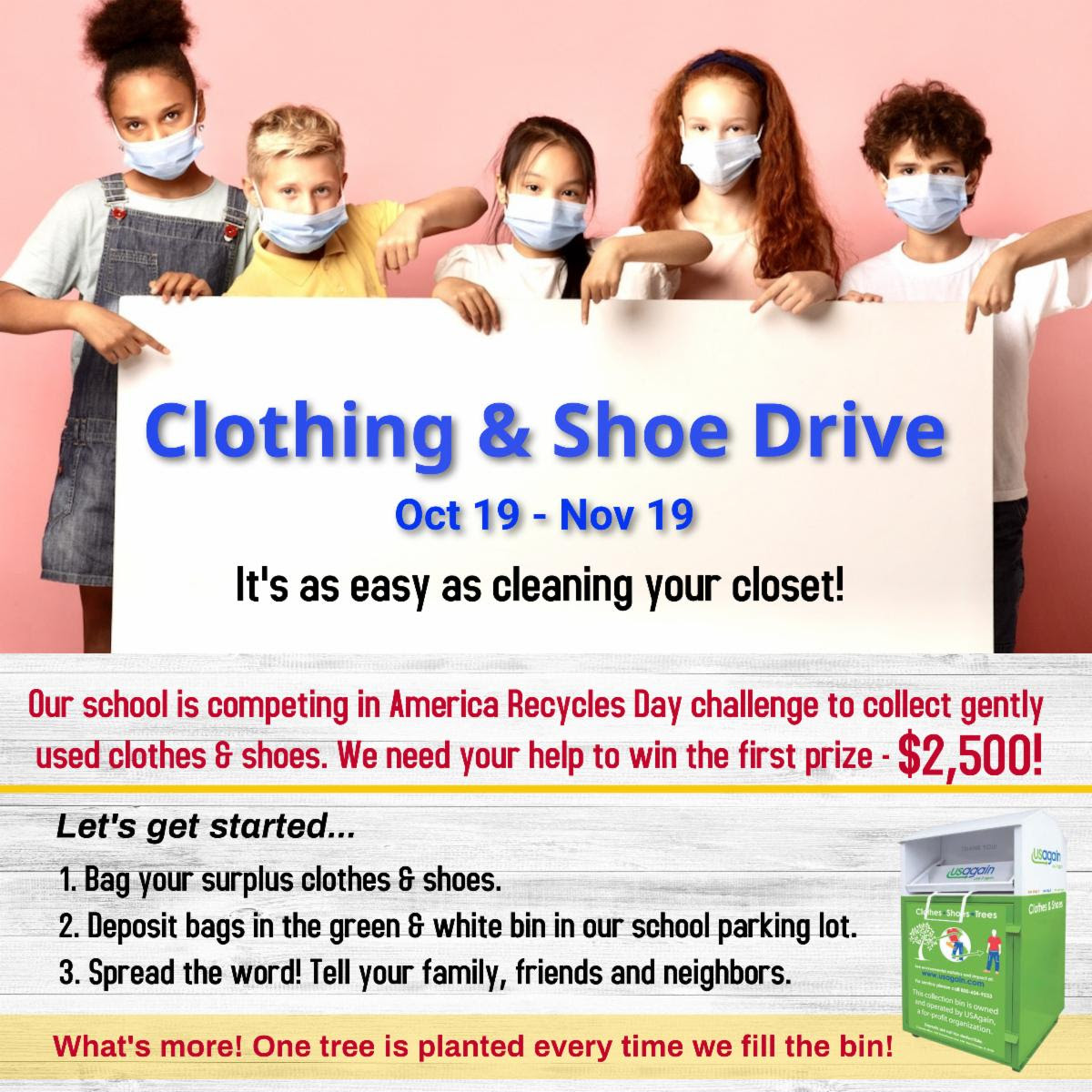 Clothing and Shoe Drive