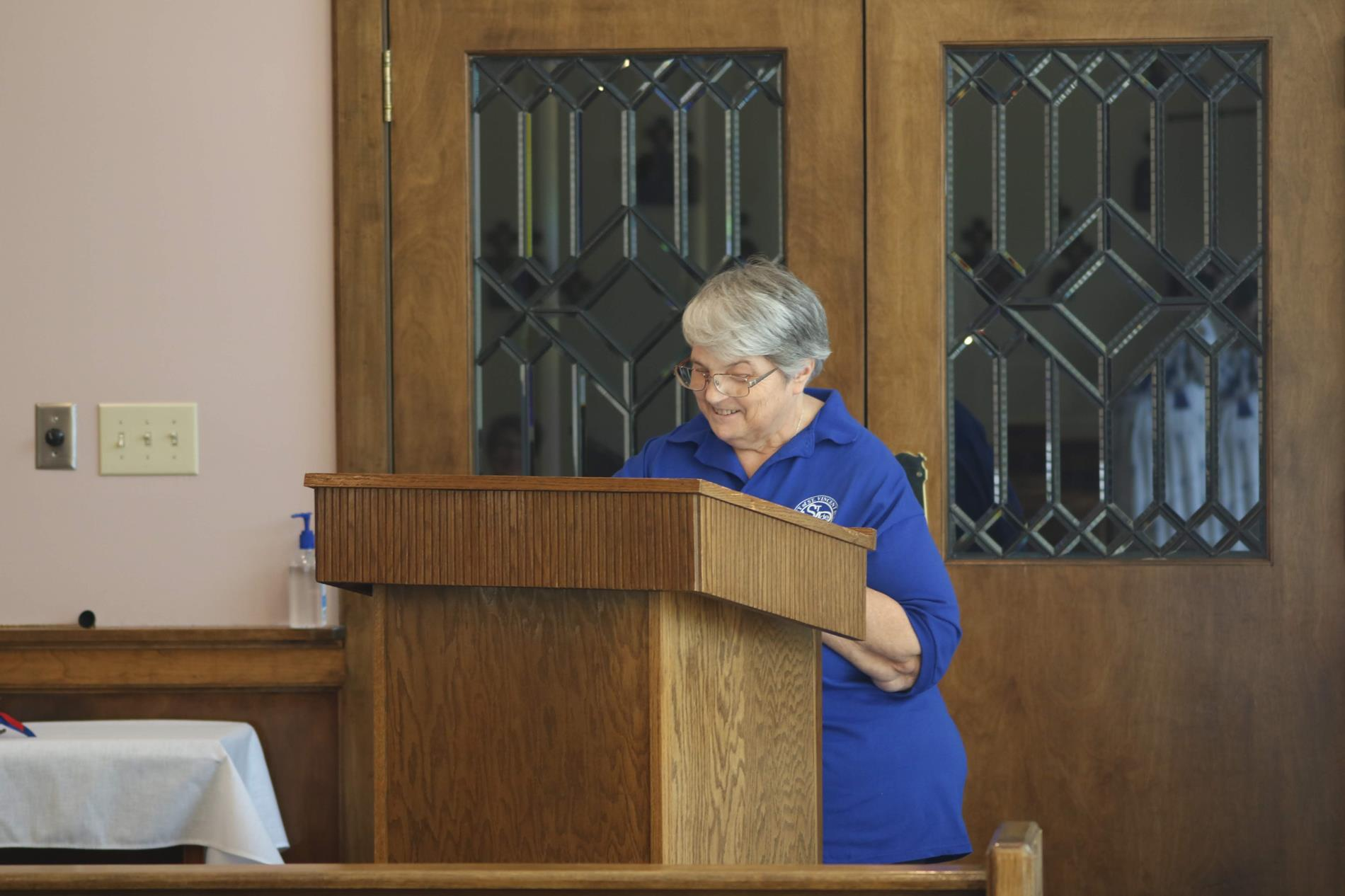 Pat opens ceremony