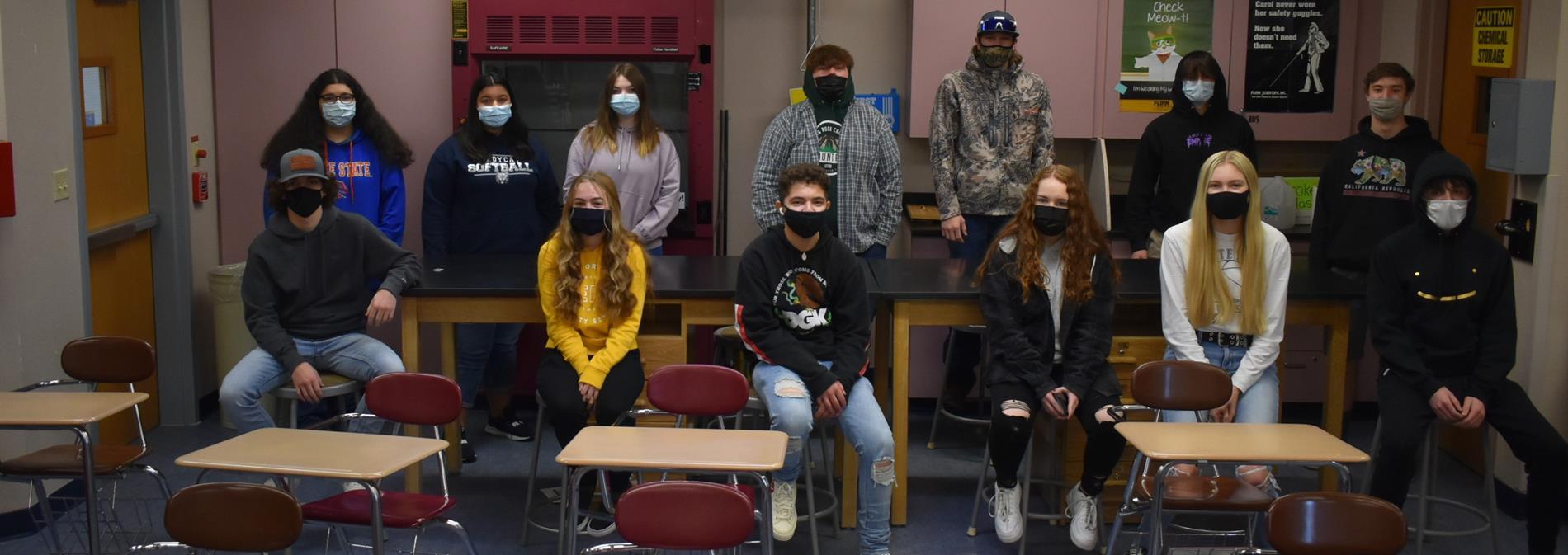 White Pine High School Chemistry Class 2021
