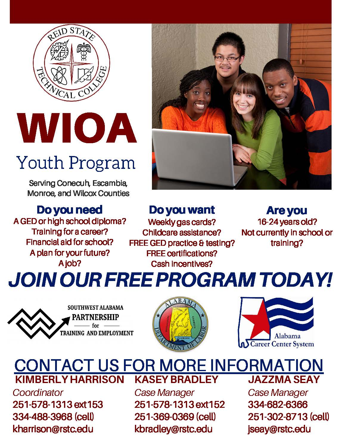 WIOA Youth Flyer