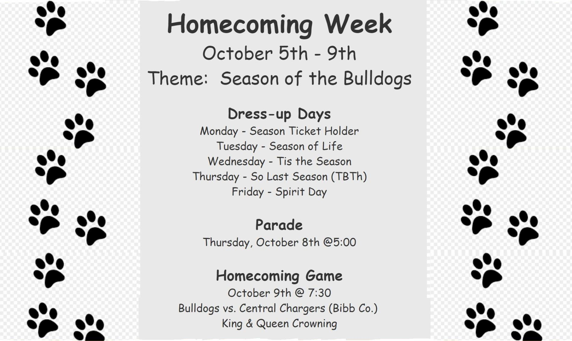 Homecoming Week 2020