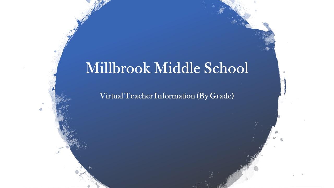 Virtual Teachers Information