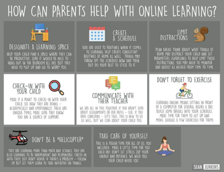 Online learning tips!