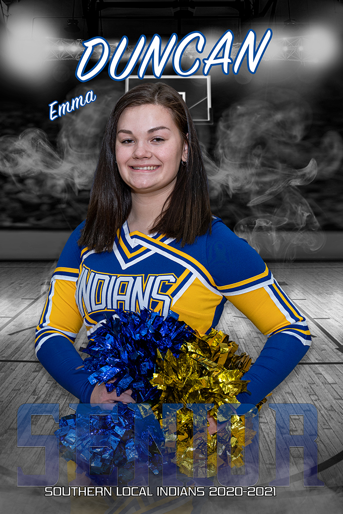 Senior Emma Duncan