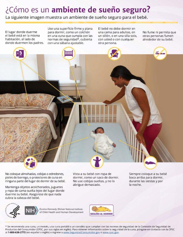Safe Sleep Environment Spanish