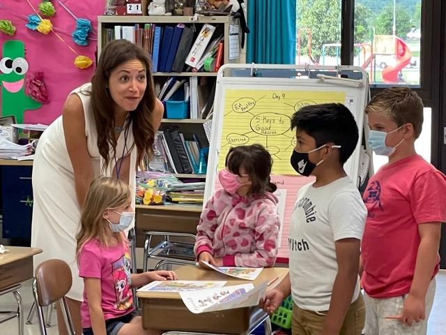 Commissioner of Education Visits Grainger County