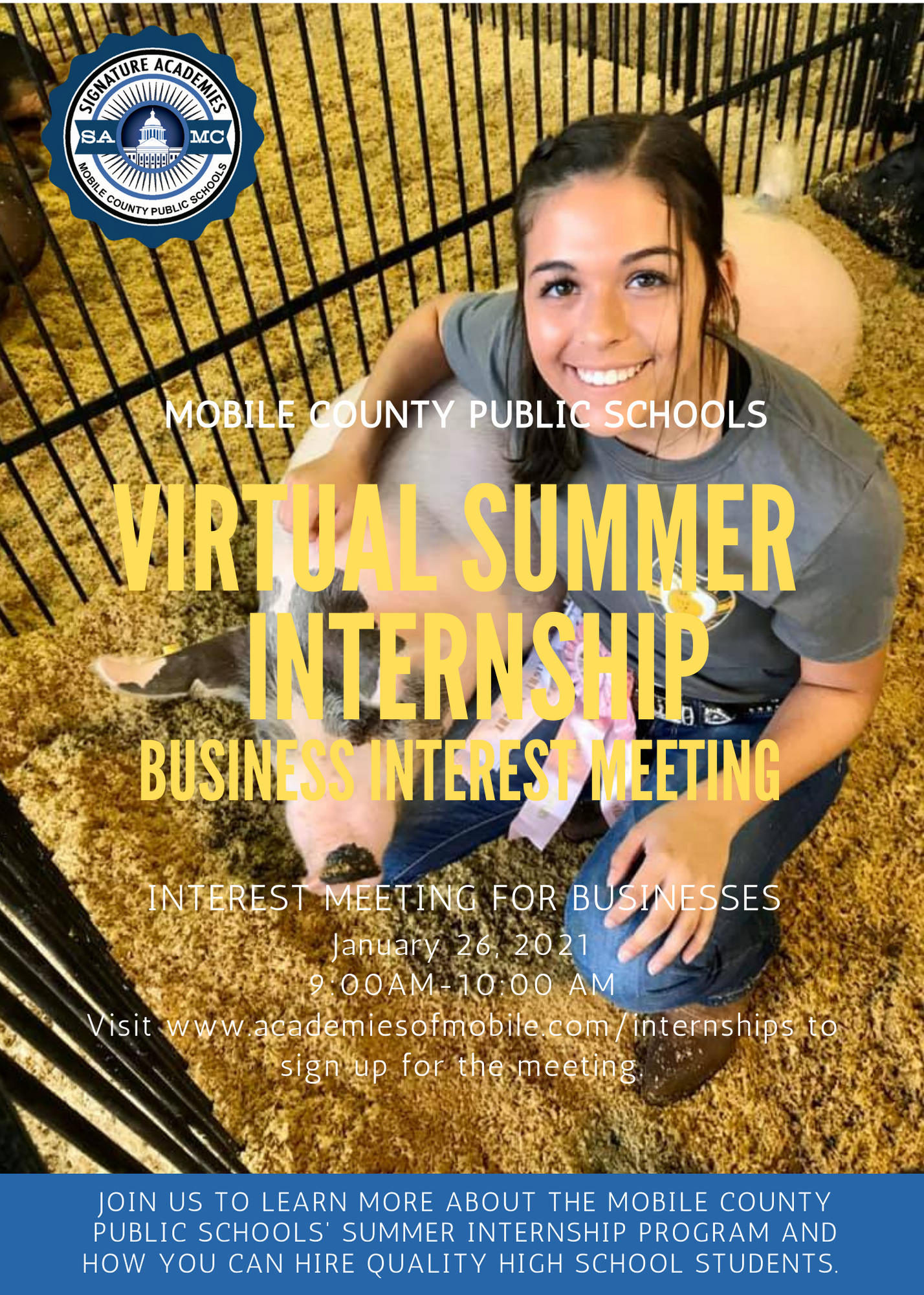 Summer Internship Business Interest Meeting