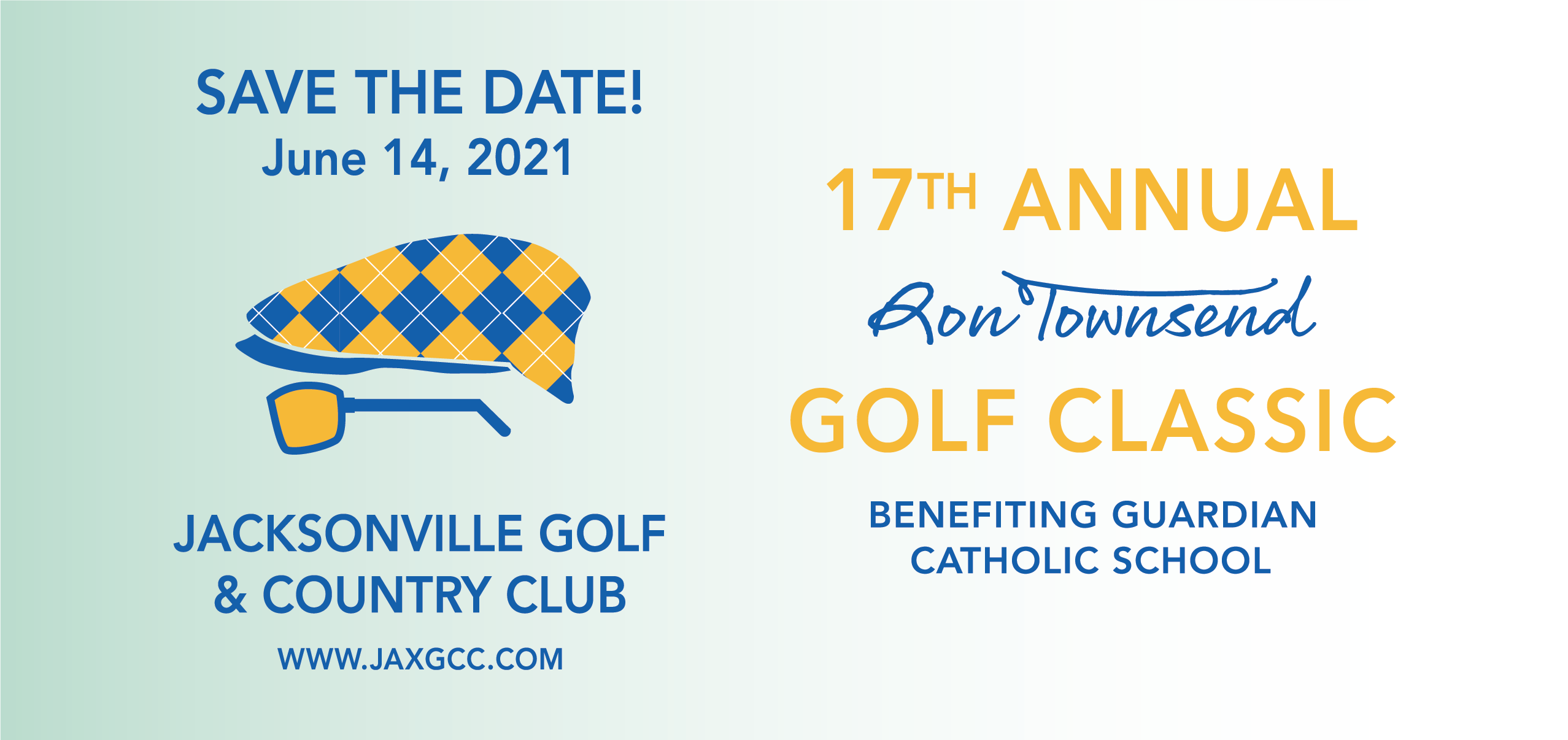 17th Annual Ron Townsend Golf Classic Guardian Catholic Save the Date