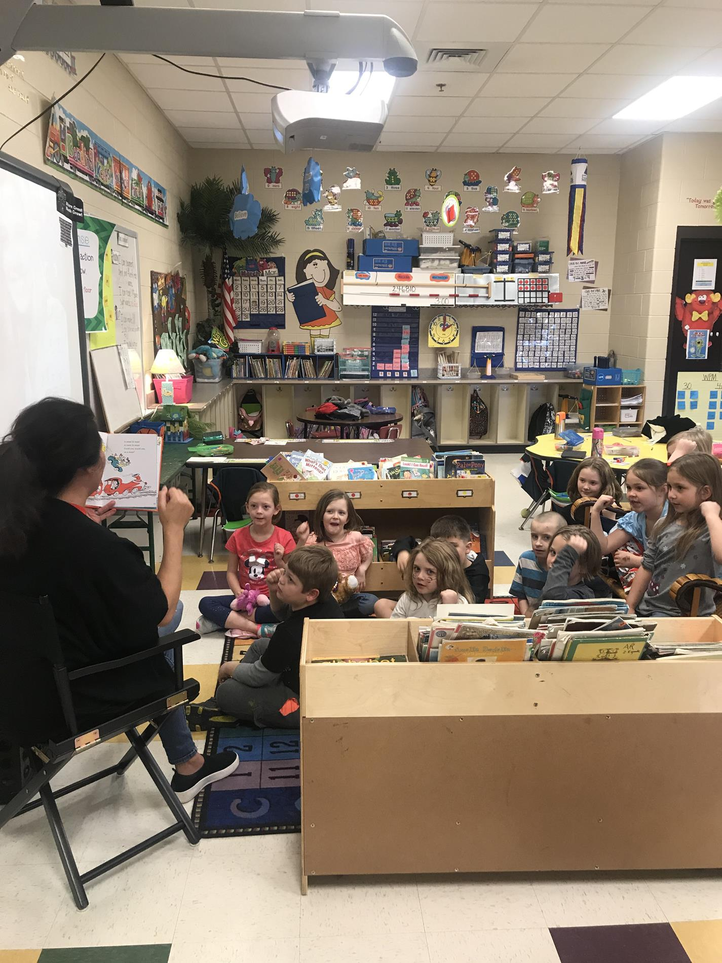 RAA Week-Mrs.Clark read to us!