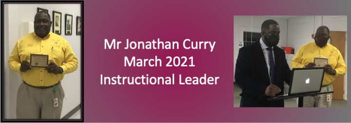 March 2021 Instructional Leader Spotlight