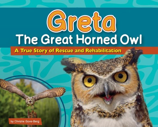 Greta the Great Horned Owl Book Link
