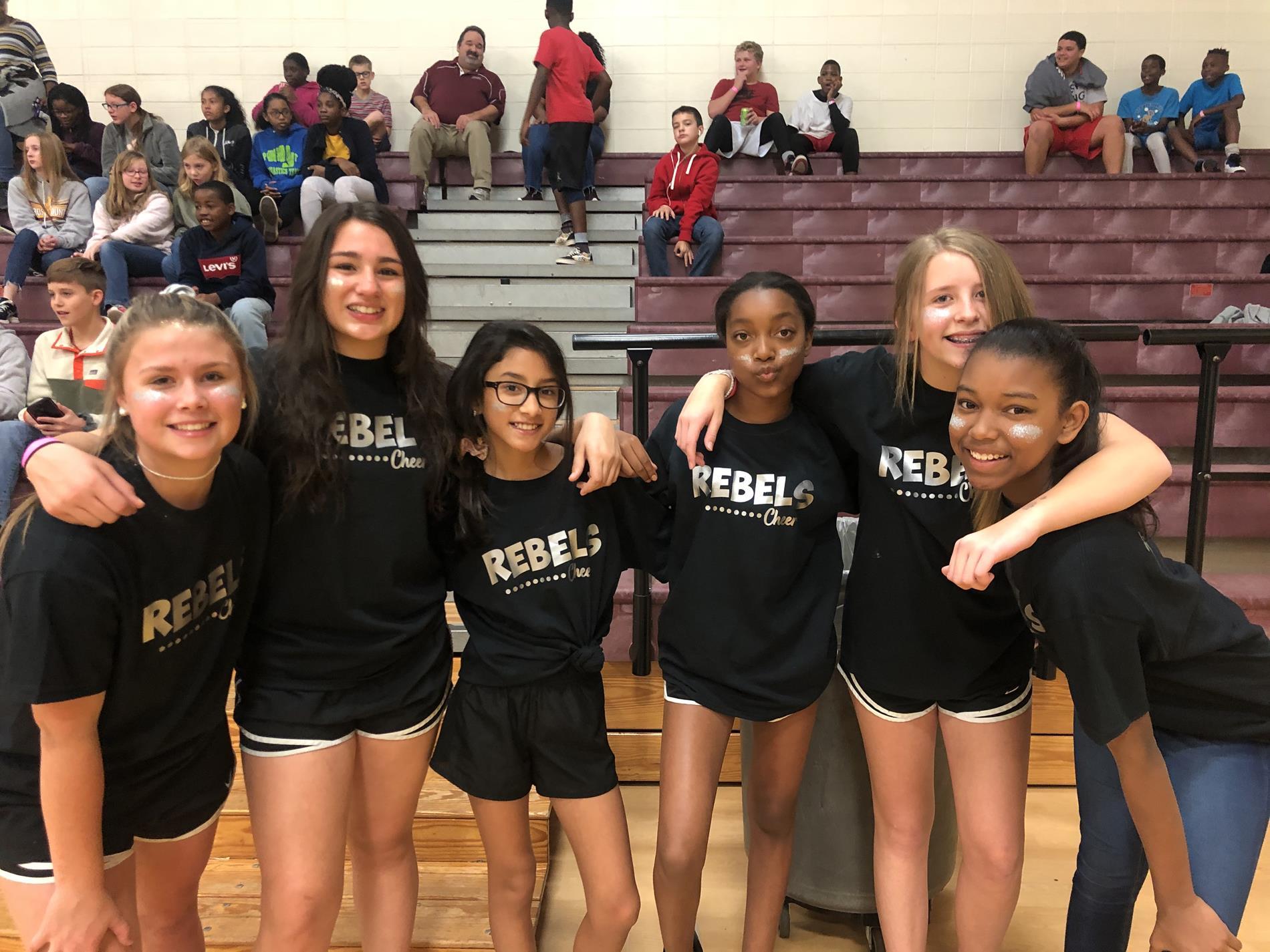 TSA cheer squad 1