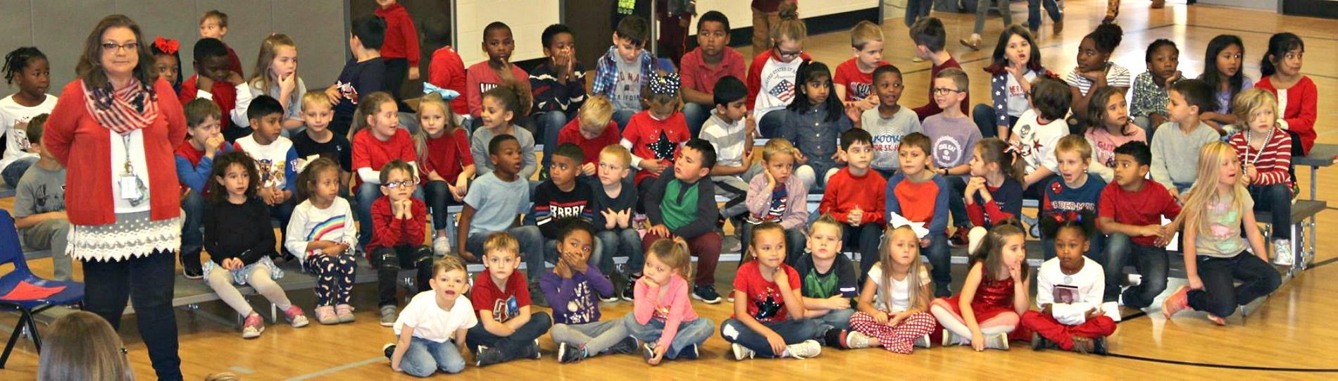 1st Grade Veterans Day