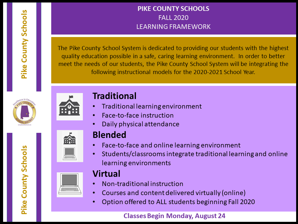 2020-2021 Learning Framework