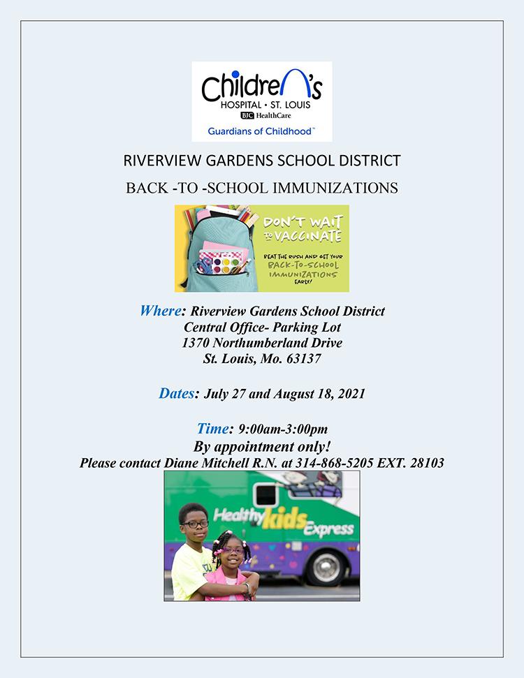 Back-to-School Immunizations