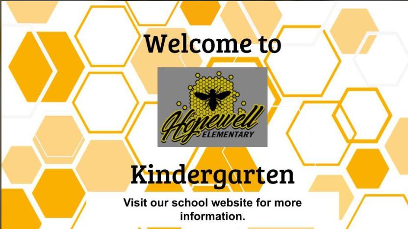 Kindergarten Registration Video