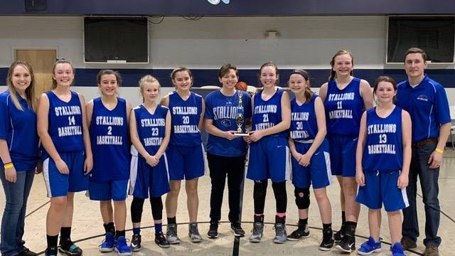 2018-19 JH Girls Basketball