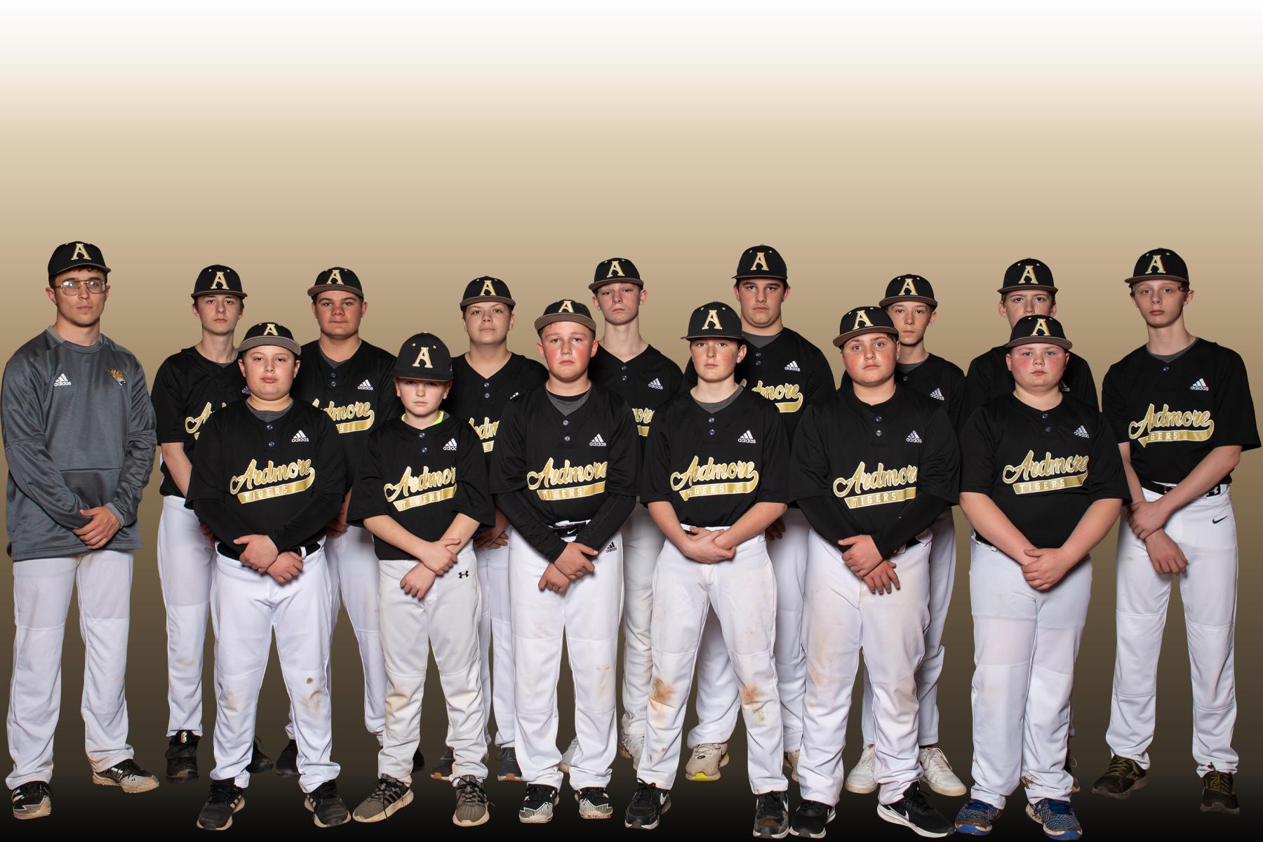 Our 7th Grade Baseball Team