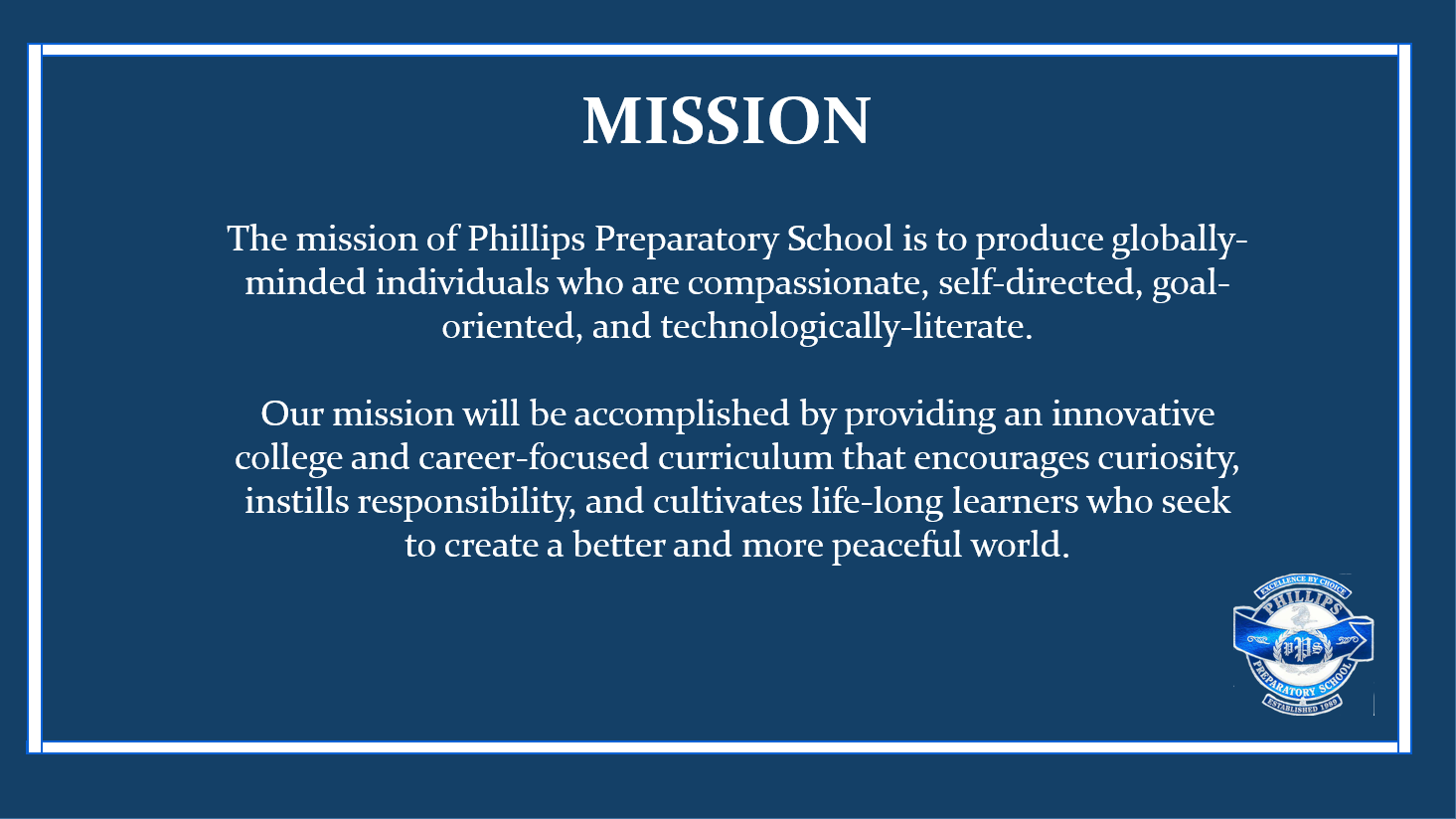 PPS Mission Statement