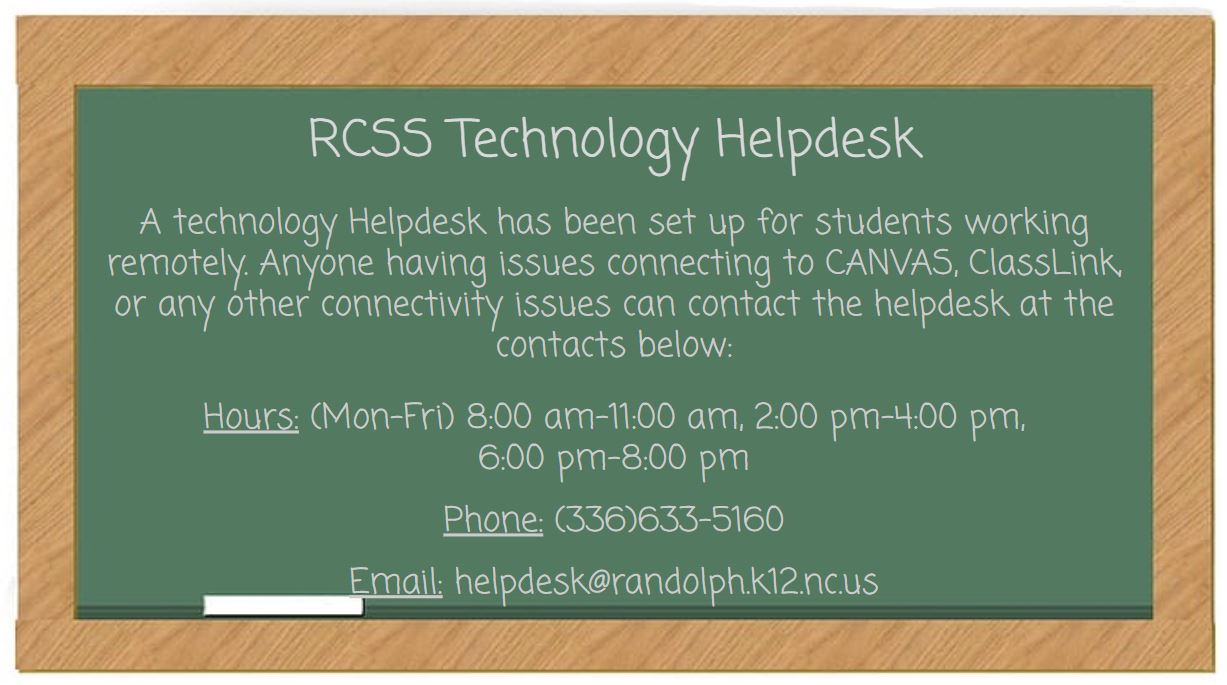 RCSS Technology Helpdesk