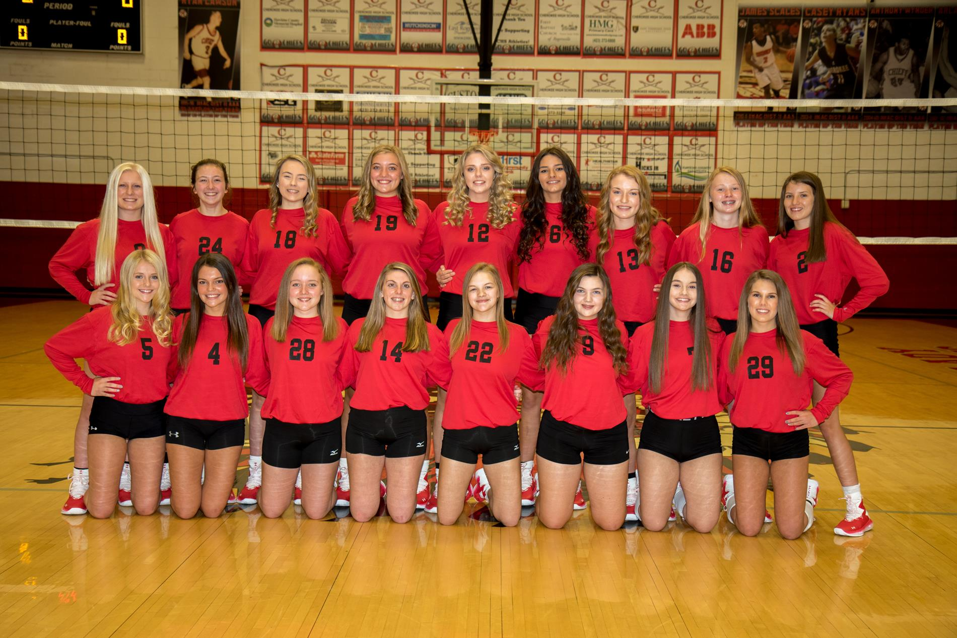 JV VOLLEYBALL 2020 TEAM PIC