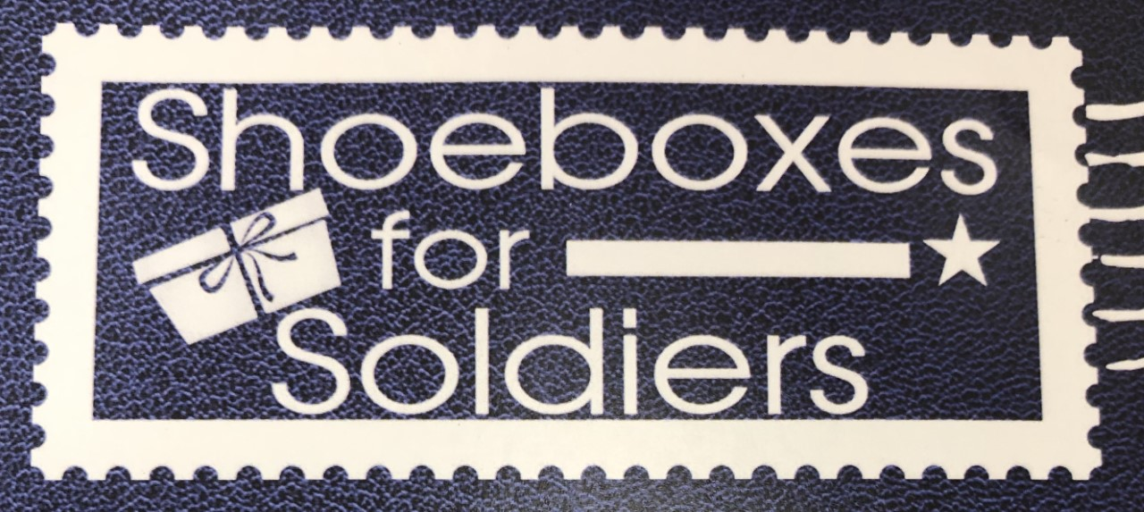 Shoeboxes for Soldiers Ceremony