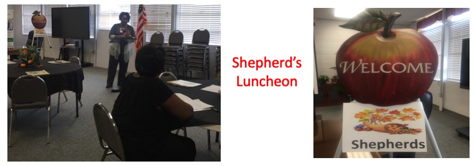 Shepherd's Luncheon Slide 1