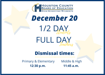 December Half-Day