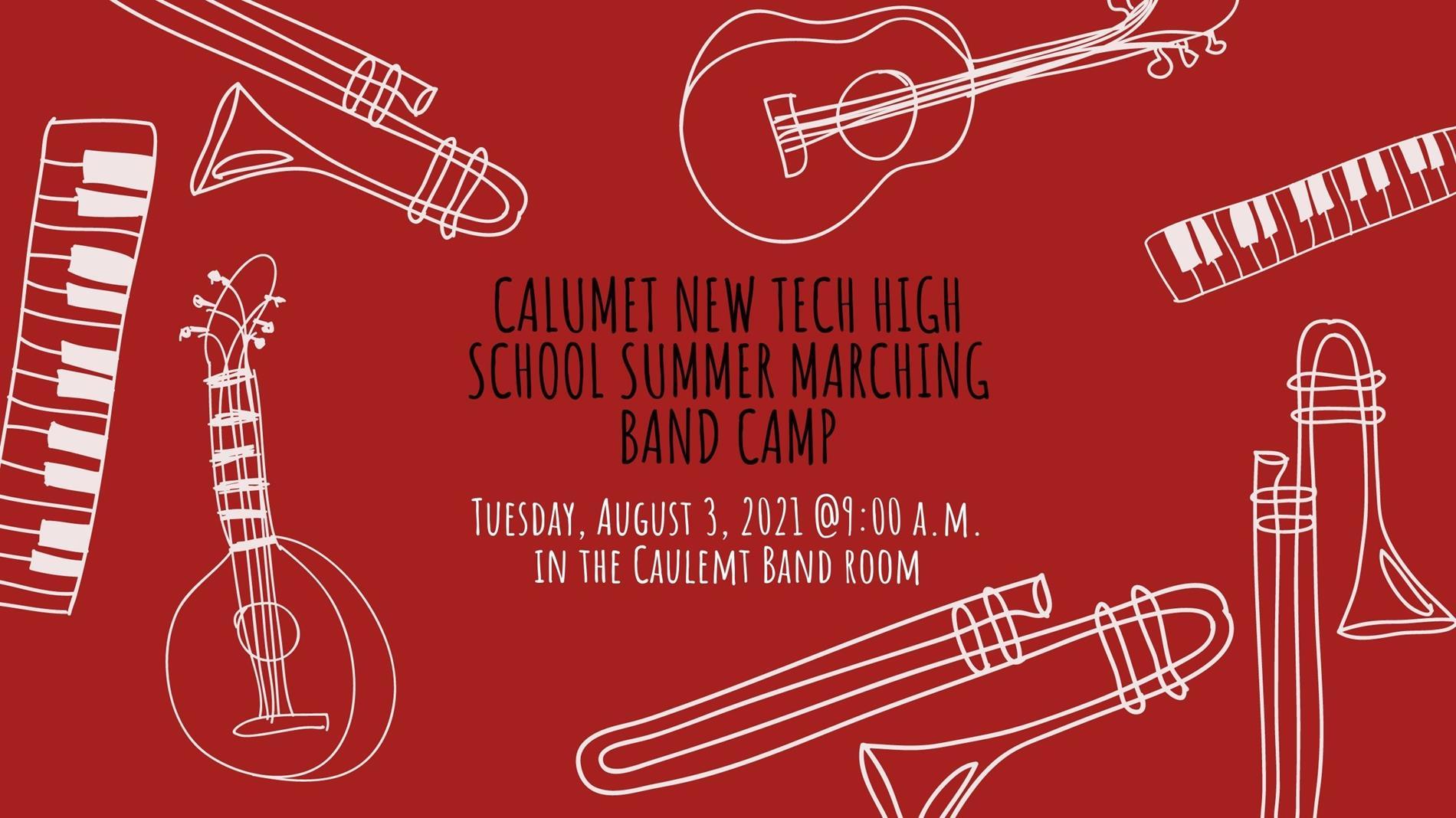 Summer Band Camp Info