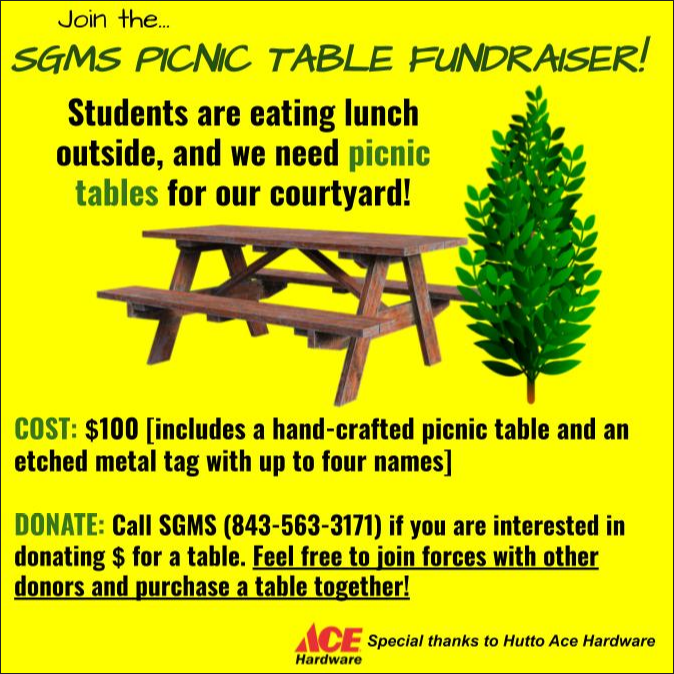 Picnic Table Donations