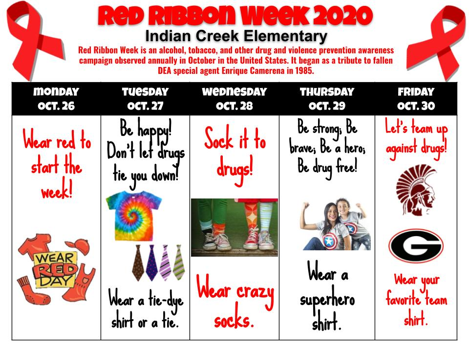 Red Ribbon Week 2020-english flyer