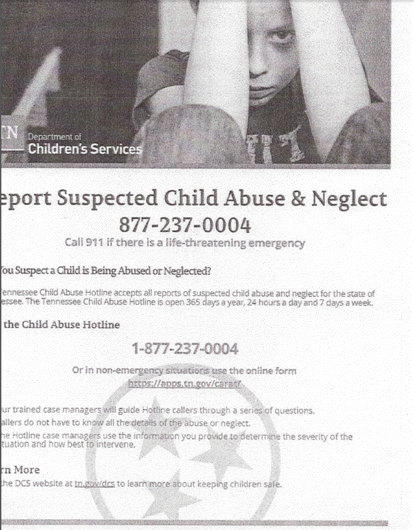 Child Abuse Hotline
