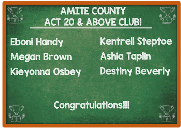 ACT 20 and Above Club