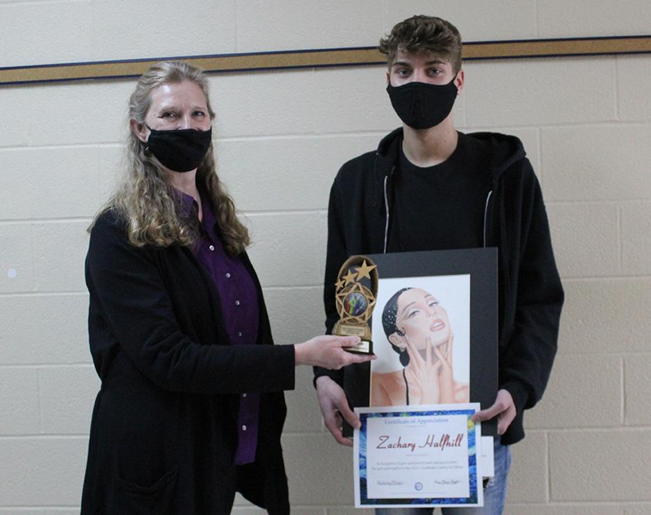 Zach Halfhill received Best of Show Award
