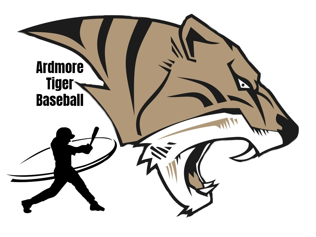 AHS Tiger Baseball Logo