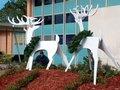 Yard-Art Reindeer