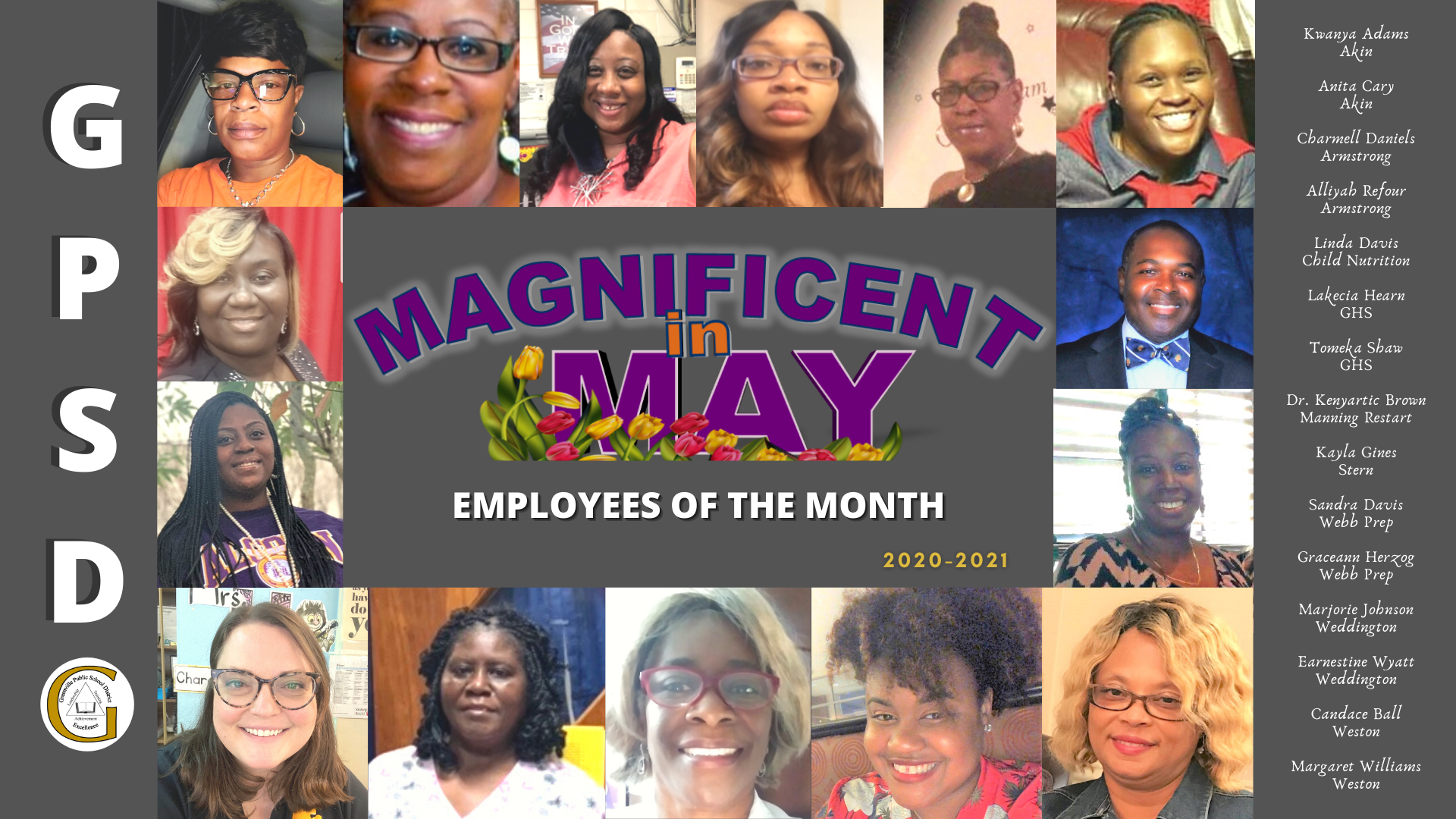 Employee of the Month - May