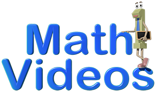 Math Videos header with link to Math & Learning Videos 4 Kids channel