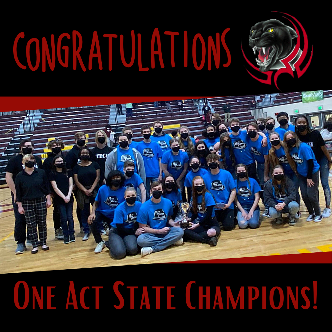 PHS Wins One Act State Championship