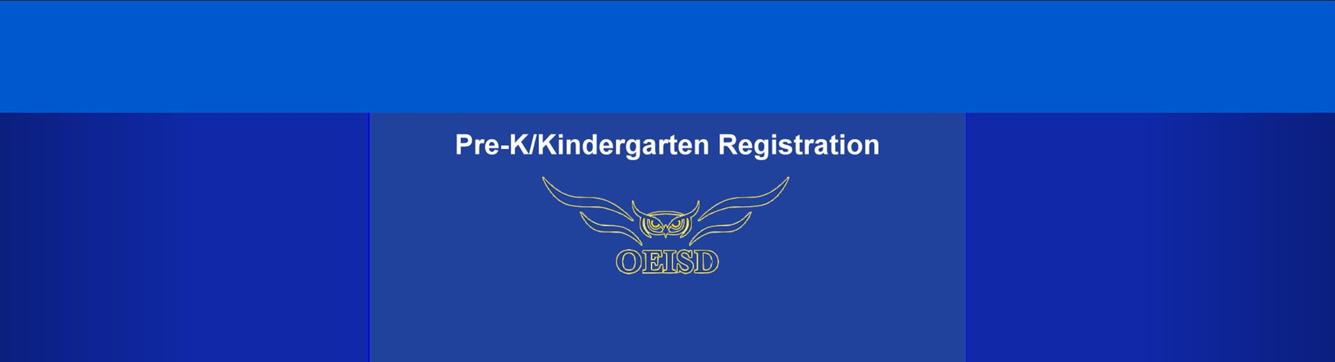 Pre-K/Kindergarten Registration Information
