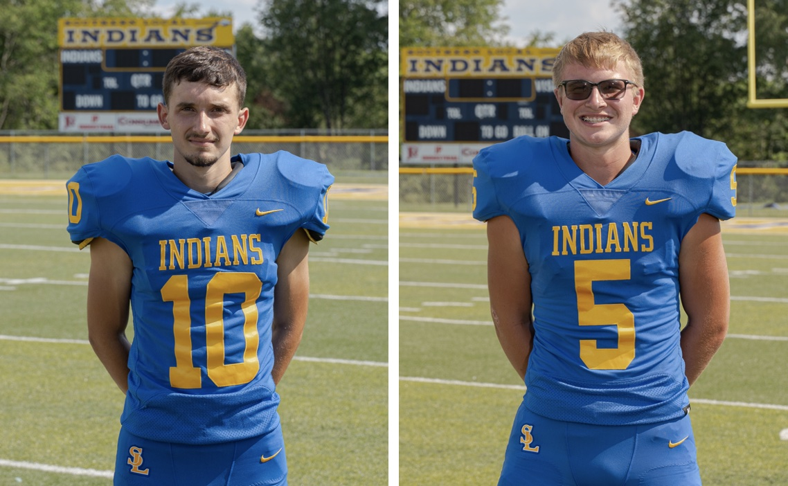 Josh Pratt and Timmy West receive Honorable Mention from the All-Area Football Team