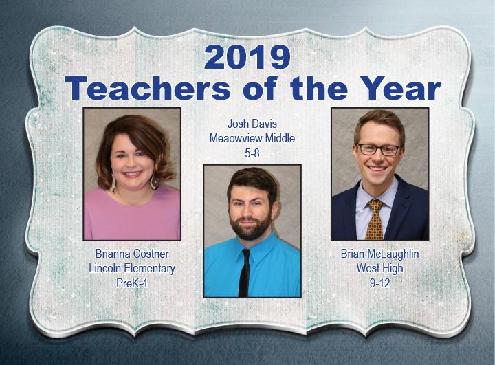 2019 Teachers of the Year
