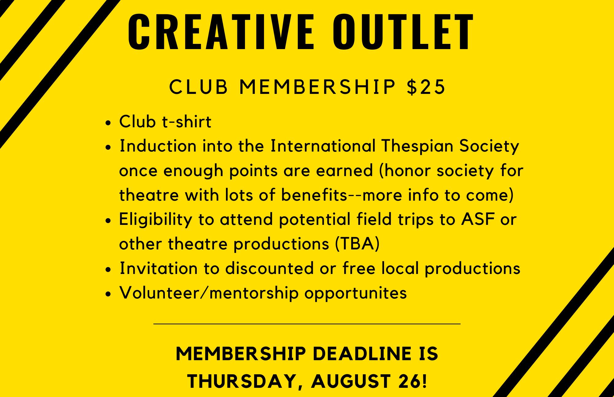 Club Dues/Info