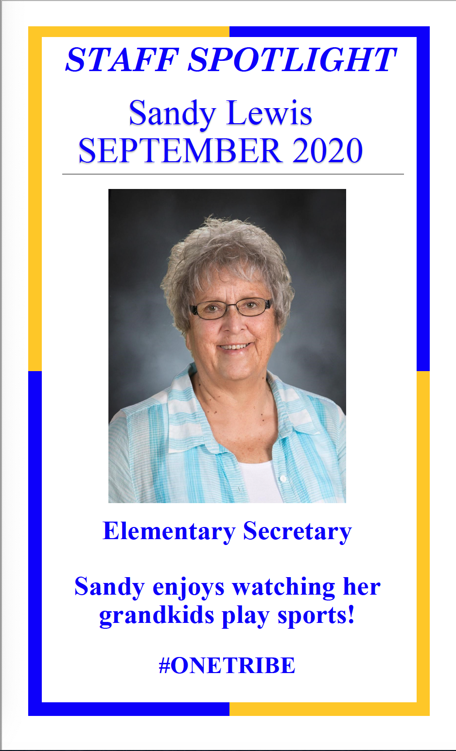 Lewis Elementary Teacher Spotlight