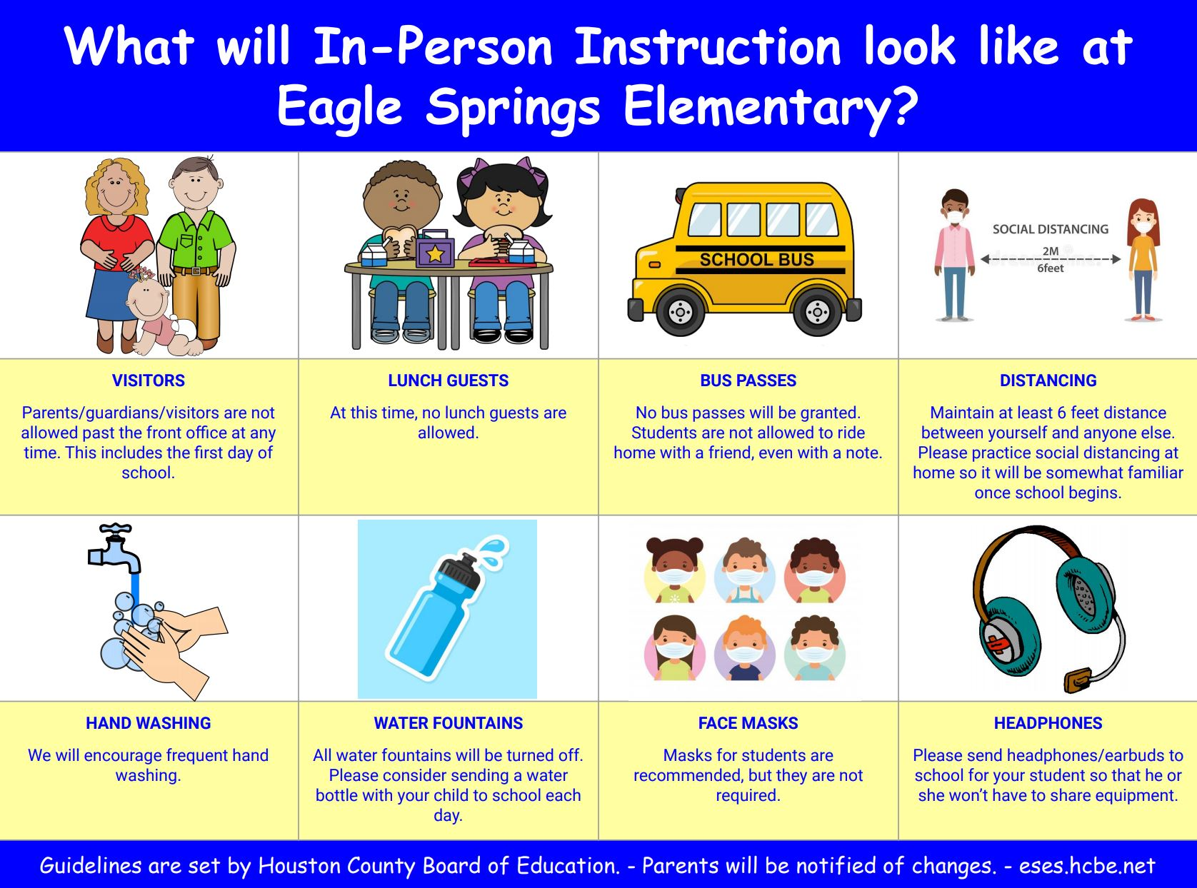 In-Person Instruction Poster